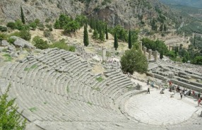 Archeological site of Delphi